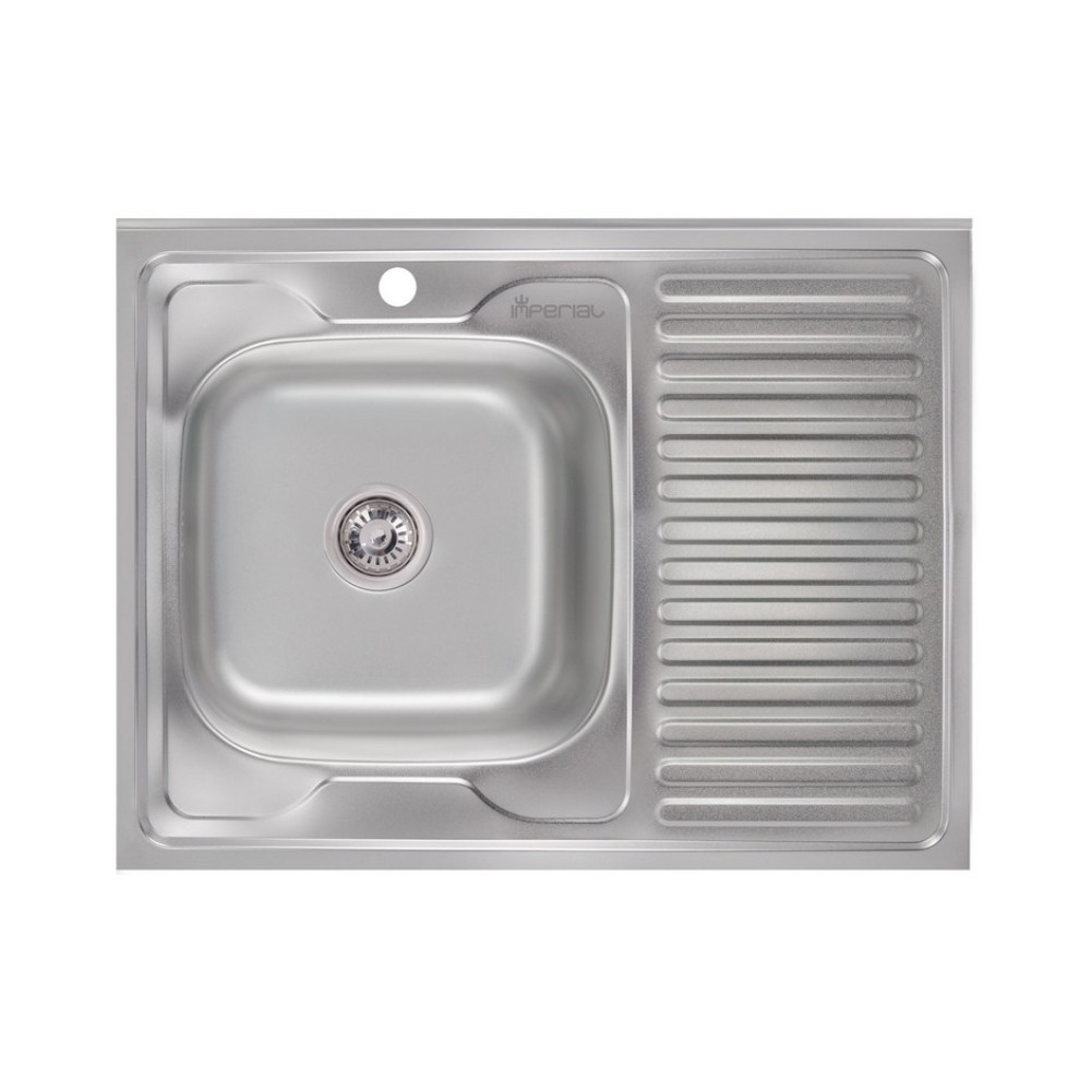 Кухонна мийка Imperial 6080-L Decor (IMP6080LDEC)