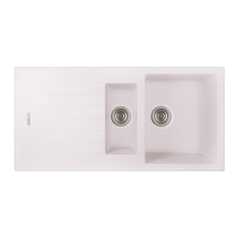 Кухонная мойка Apell Pietra Plus PTPL1002GW Total white