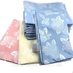 Наперник однотонный  из тика для подушки из пера и пуха 70х70 выбор расцветки