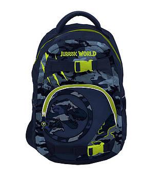 Школьный рюкзак анатомический мальчику для 5-9 класса Динозавры 44 х 30 х 13 см YES T-110 (554692)