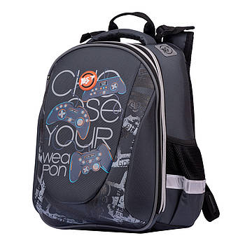 Школьный рюкзак ортопедический мальчику для 1-4 класса 37 х 30 х 19 см YES H-28 Game (557857)(H-28)