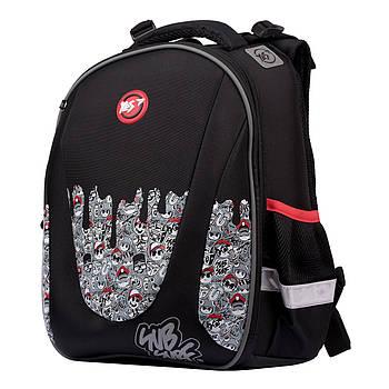 Школьный рюкзак ортопедический для 1-4 класса 37 х 30 х 19 см YES H-28 SubSurf.Black and White (557858)(H-28)