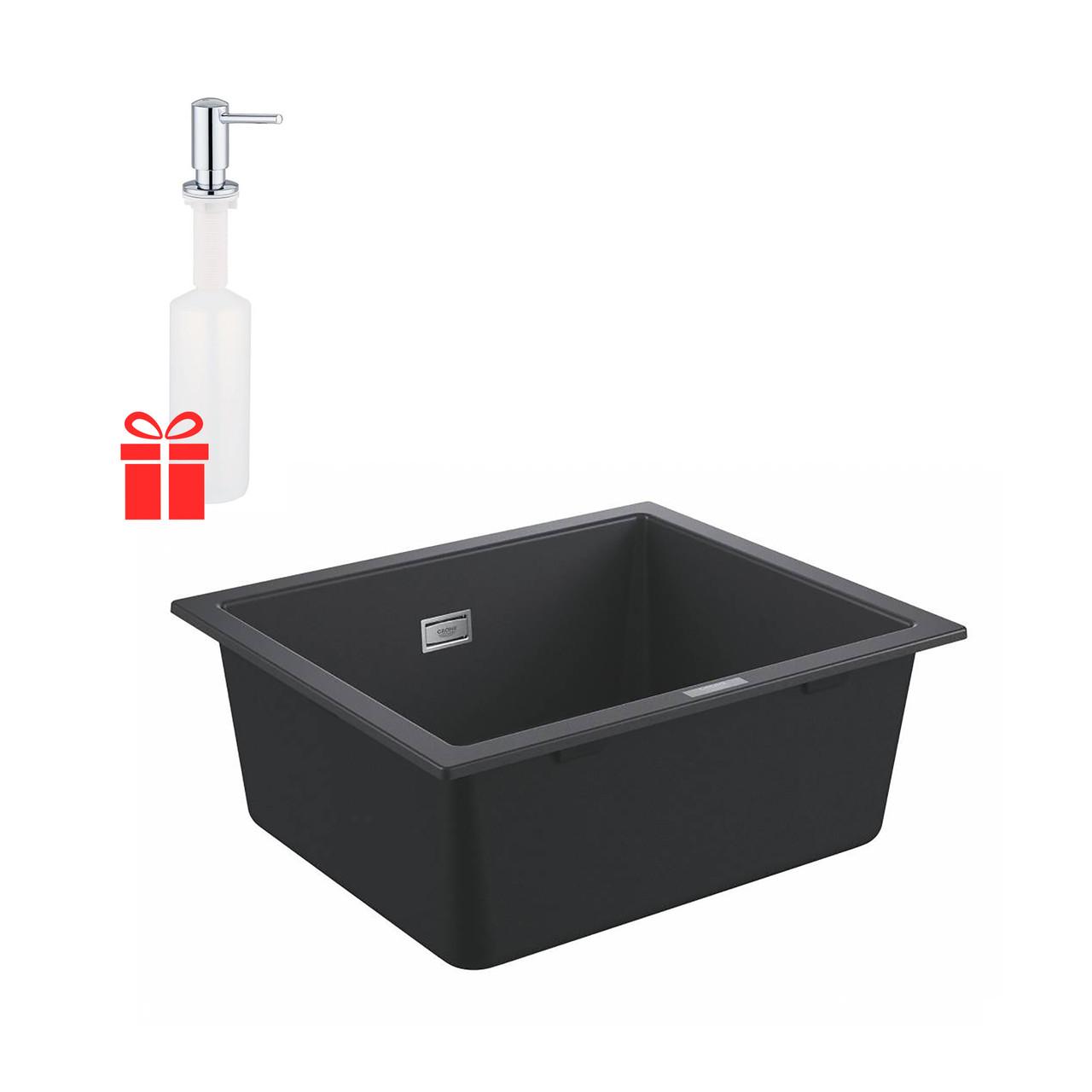Набір Grohe мийка кухонна K700 31654AP0 + дозатор для миючого засобу Contemporary 40536000