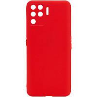 Силіконовий чохол Candy Full Camera для Oppo A94 Червоний / Red