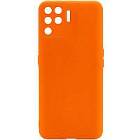 Силіконовий чохол Candy Full Camera для Oppo A94 Помаранчевий / Orange