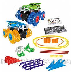 Игровой автомобильный трак TRIX TRUX (Трикс Тракс) 2 машинки детский игровой трек конструктор