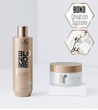 Детокс серія для відновлення чистоти кольору для всіх типів блонд BLONDME Schwarzkopf Professional