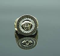 Элитное кольцо перстень под Versace. Украшения для оптовиков. 110
