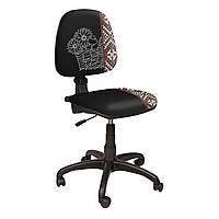 Кресло Престиж Люкс LB Дизайн чёрный+принт