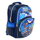 Рюкзак шкільний ранець для хлопчика 1 2 3 клас Синій (86661), фото 2