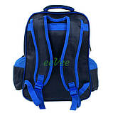 Рюкзак шкільний ранець для хлопчика 1 2 3 клас Синій (86661), фото 3