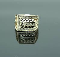 Эксклюзивное кольцо перстень в стразах. Бижутерия оптом в Мариуполе. 111