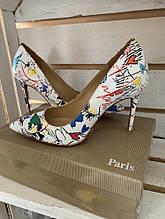 Туфлі Christian Louboutin 227 white