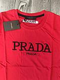 Футболка Prada Red, фото 2