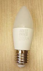 Світлодіодна лампа Filament Etron С37 10W E27 3000К,4200K свічка