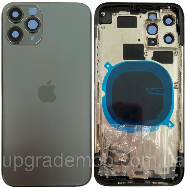 Корпус iPhone 11 Pro Max сірий Matte Space Gray хорошої якості