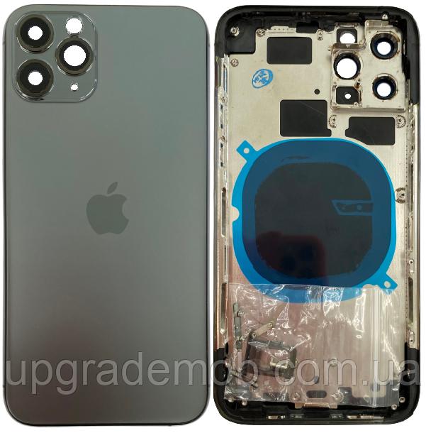 Корпус iPhone 11 Pro серый Matte Space Gray хорошего качества