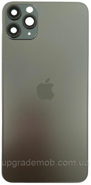 Задняя крышка iPhone 11 Pro серая Space Gray оригинал в комплекте стекло камеры