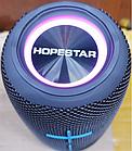 ОПТ Портативная Bluetooth колонка Hopestar P20 5W*2 с подсветкой Bluetooth-динамик usb power bank hands-free, фото 9