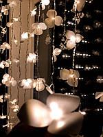 Світлодіодна гірлянда штора на вікні «120 орхідей», фото 1