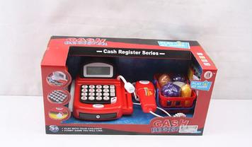 Кассовый аппарат для игр в магазин Игрушечный кассовый апарат для детей от 3-х лет Игрушечный магазин с кассой