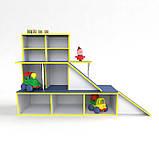 Игровая мебель Автосалон, зона для игр в детском саду, фото 2