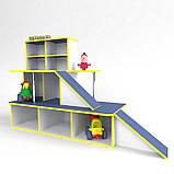 Игровая мебель Автосалон, зона для игр в детском саду, фото 3