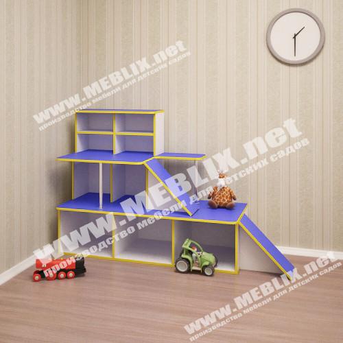 Игровая мебель Автосалон, зона для игр в детском саду