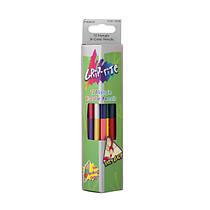 Набір кольорових олівців Grip-Rite Marco,12 шт. 24 кольору, двухсторон.тригранні 9101-12