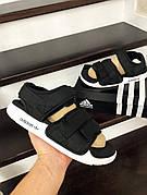 Мужские трендовые сандалии\босоножки в стиле Adidas Adilette Sandal Black Черные