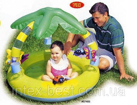 Детский надувной бассейн «Пальма» Intex 57405, фото 2