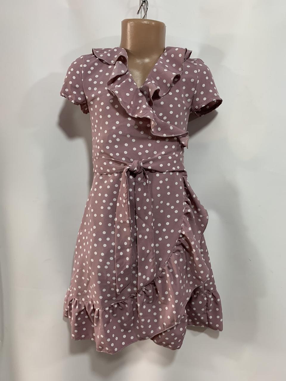 Літнє плаття для дівчинки р. 6-10 років