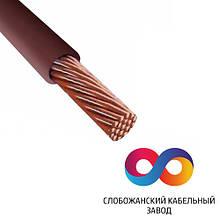 Електричний дріт СКЗ ПВ-3 1.0 Коричневий