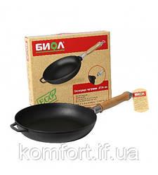 Сковорода чавунна зі знімною ручкою Біол 0120