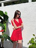 Красивое Платье Женское Летнее в горошек короткое, фото 6