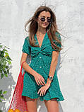 Красивое Платье Женское Летнее в горошек короткое, фото 5