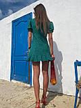 Красивое Платье Женское Летнее в горошек короткое, фото 4