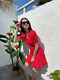 Красивое Платье Женское Летнее в горошек короткое, фото 3