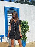 Красивое Платье Женское Летнее в горошек короткое, фото 7