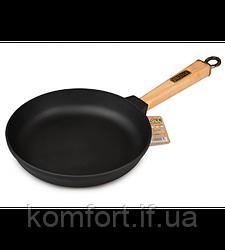 Сковорода чавунна Brizoll Класик К2240-Р 22 см
