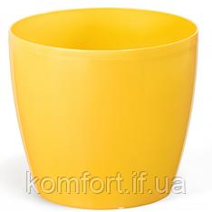 Цветочный горшок Lamela Магнолия 210 Жёлтый