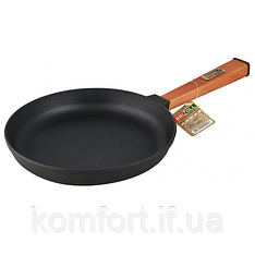 Сковорода чавунна Brizoll Оптима О2440-Р 24 см