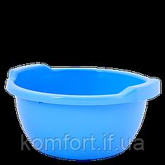 Таз круглый 3 л Алеана 121051 Голубой