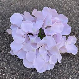 Головка гортензии, 15 см. нежно розовая