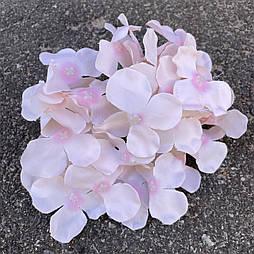 Головка гортензии, 15 см. розовая