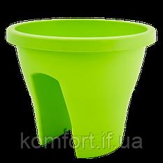 Квітковий вазон Алеана Женева 29 Оливковий