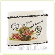 Підставка для серветок Maestro MR 20050-44 Листівка-троянда