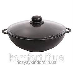 Сковорода WOK Біол 32 см з кришкою
