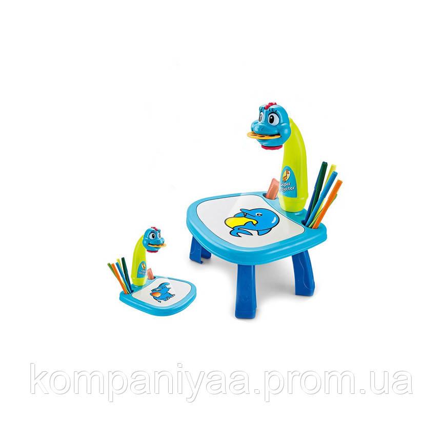 Проектор для малювання 6188-6288 із столом (Синій)