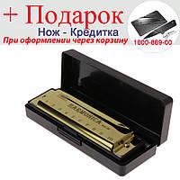 Губна гармоніка Harmonica BMT1 Золотий